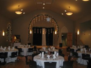 JACC image - decorated dinner tables