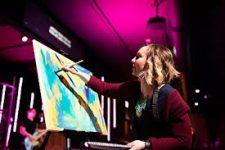 Christina painting