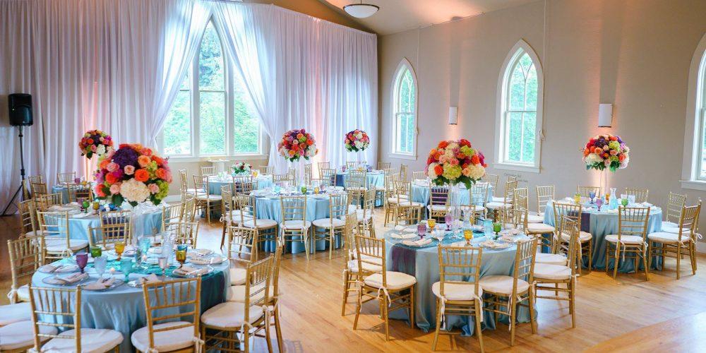 grand wedding reception